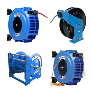 Reels - Air & Water, Hose, Electrical, Hydraulics, Ventilation, Multiconductor, Cable, Grounding etc