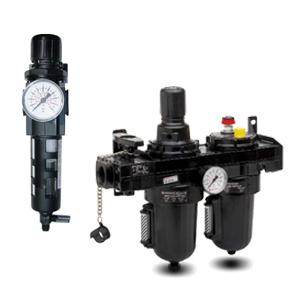 Combination Filter Regulator Lubricator Units & Kits